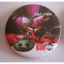 Badge Green Day - Tre Cool