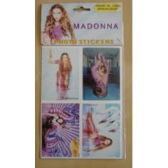 Planche de 4 Autocollants Madonna