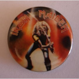 Badge Iron Maiden - Made in Japan