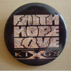 Badge King's X - Faith Hope Love