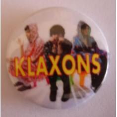 Badge Klaxons