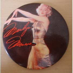 Badge Marilyn Monroe