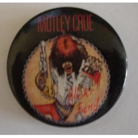 Badge Motley Crüe - Allister Fiend