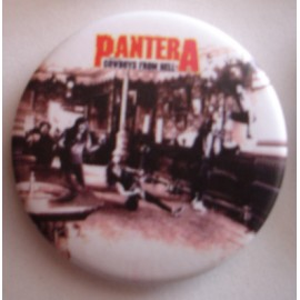 Badge Pantera - Cowboys from Hell