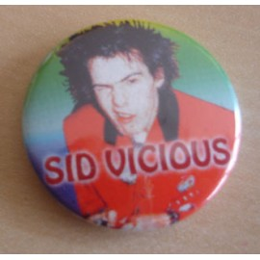 Badge Sex Pistols - Sid Vicious