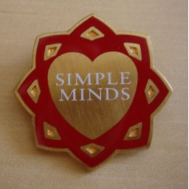 Badge Simple Minds