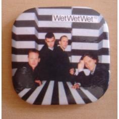 Badge Wet Wet Wet
