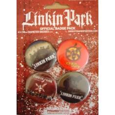 Badge Linkin Park (pack de 4)