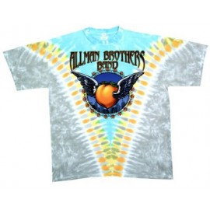 T-shirt All Man Brothers [tye dye Liquid Blue]