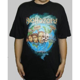T-shirt Biohazard