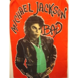Drapeau Michael Jackson - Bad