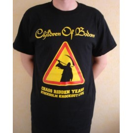 T-shirt Children of Bodom - Chaos Ridden Years