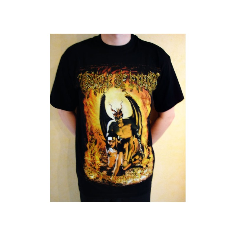 t shirt cradle of filth stay behind me satan. Black Bedroom Furniture Sets. Home Design Ideas