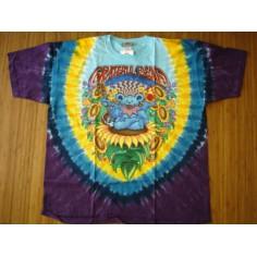 T-shirt Grateful Dead [tye dye Liquid Blue]