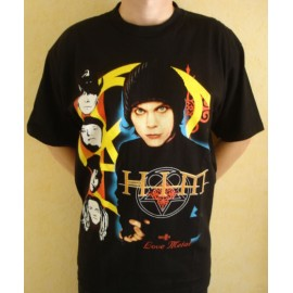 T-shirt HIM - Love metal