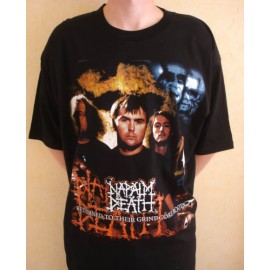 T-shirt Napalm Death - Returned to their grindcore roots