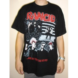 T-shirt Rancid ...And out come the wolves