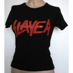 Top fille moulant Slayer