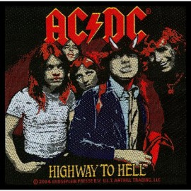 Ecusson AC/DC - Highway to Hell