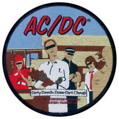 Ecusson AC/DC - Dirty deeds