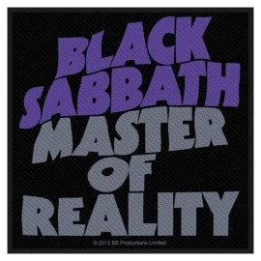 Patch Black Sabbath - Master of Reality