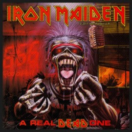 Ecusson Iron Maiden - A real dead one