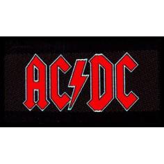Ecusson AC/DC