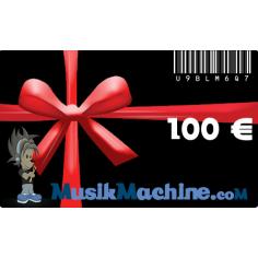 Carte cadeau d'une valeur de 100 €€
