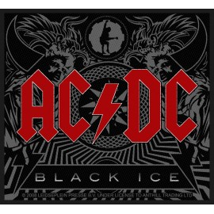 Ecusson AC/DC - Black ice
