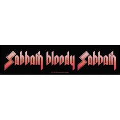 Ecusson Black Sabbath - Sabbath Bloody Sabbath