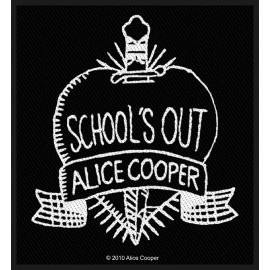 Ecusson Alice Cooper - School's out