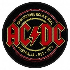Ecusson AC/DC - High voltage Rock n Roll