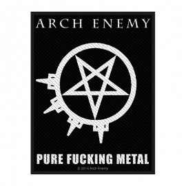 Ecusson Arch Enemy - Pure Fucking Metal