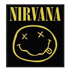 Ecusson Nirvana - Smiley