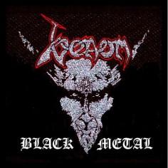 Ecusson Venom - Black Metal