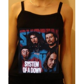 Top fille moulant System of a Down