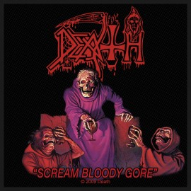 Ecusson Death - Scream Bloody Gore