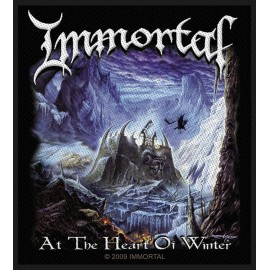 Ecusson Immortal - At the heart of winter
