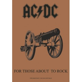 Flag AC/DC - For those about to Rock