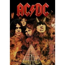 Drapeau AC/DC - Highway to Hell
