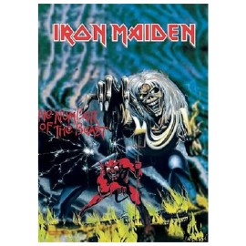 Drapeau Iron Maiden - The Number of the Beast