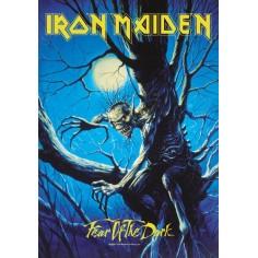Drapeau Iron Maiden - Fear of the Dark