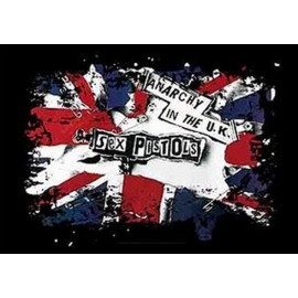 Drapeau Sex Pistols - Anarchy in the UK