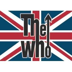 Drapeau Who (the) - Logo UK