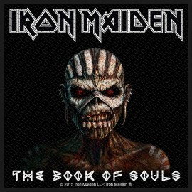 Patch Iron Maiden - The Book of Souls
