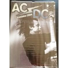 Calendrier vintage AC/DC 2004