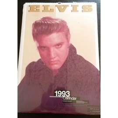 Calendrier vintage Elvis Presley 1993