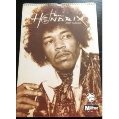 Calendrier vintage Jimi Hendrix 2007