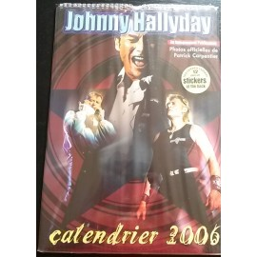 Calendrier vintage Johnny Hallyday 2006