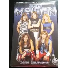 Calendrier vintage Iron Maiden 2006